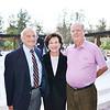 Dr. Alfredo Sadun with Mona and Frank Mapel