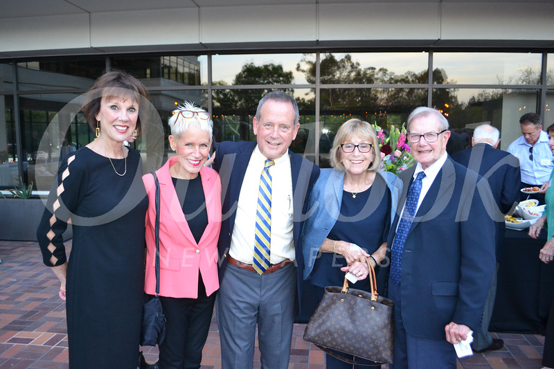 Tisha Irvine, Courtney and Gary White, and Carol and Bill Thomson