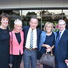 Tisha Irvine, Courtney and Gary White, and Carol and Bill Thomson