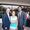 Mayor Terry and Maria Tornek with Doheny Eye Institute President Dr. SriniVas Sadda