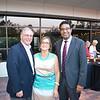 Mayor Terry and Maria Tornek with Doheny Eye Institute President Dr. SriniVas Sadda