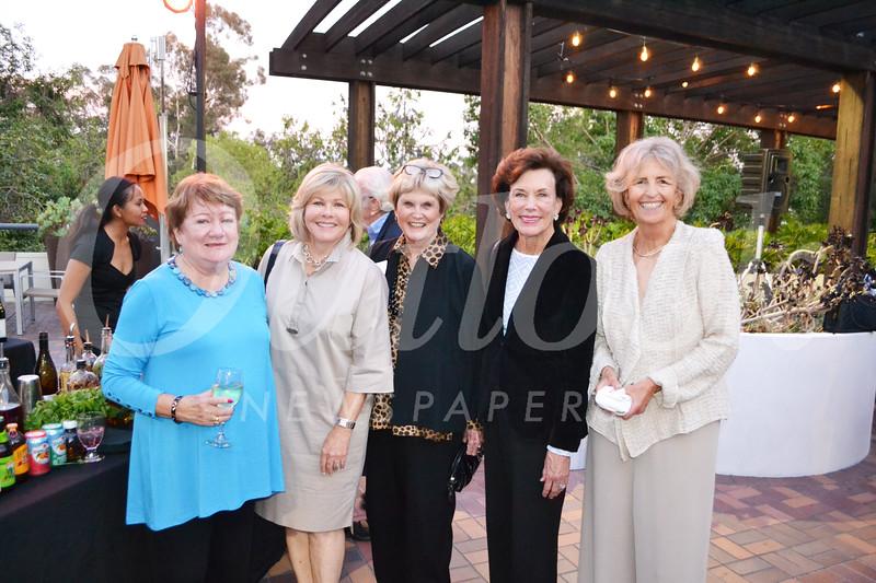 Janet Doud, Suzanne Sposato, Betsy Ulf, Mona Mapel and Barbara Bishop
