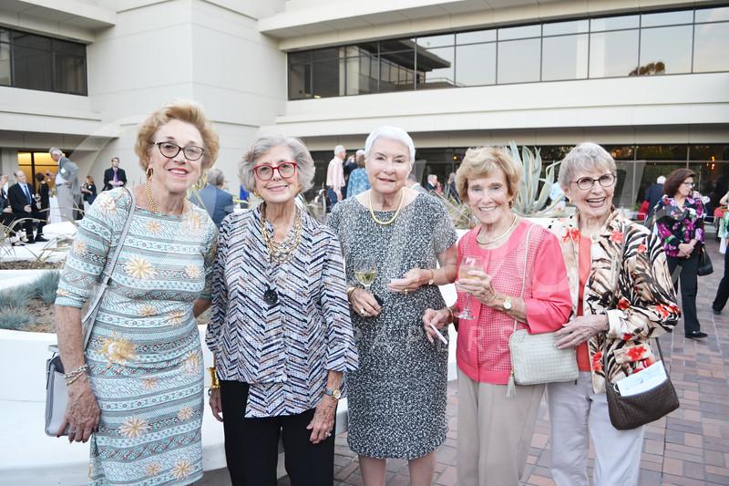 Mary Haltom, Winnie Reitnower, Herrad Marrs, Rita Coulter and Barbara Blake
