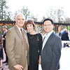 Dr. John and Tisha Irvine with Dr. Hugo Hsu