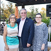 Maria and Mayor Terry Tornek with Jeanette O'Malley