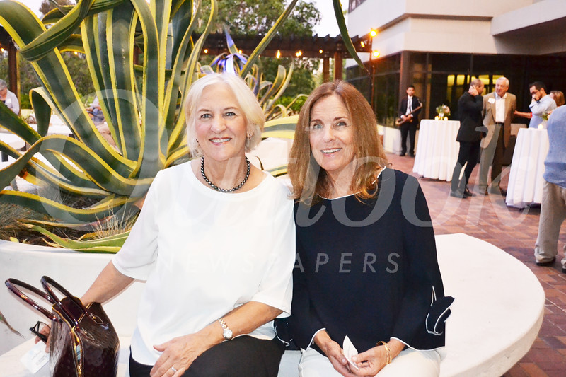 June Poust and Kathleen Duncan