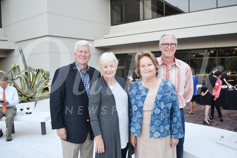 Richard and Jan Pearson with Maryann Seduski and David Stuteville