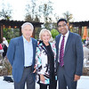 Don and Rose Manning with Doheny Eye Institute President Dr. SriniVas Sadda