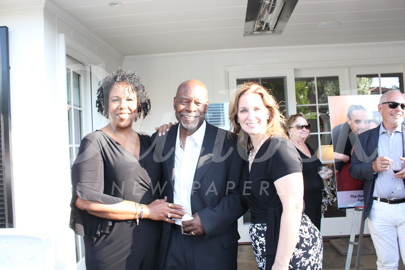 Jacquie and Tony Collier and Ann Lancaster
