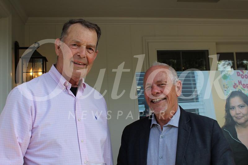 Allen Brune and George Chenault