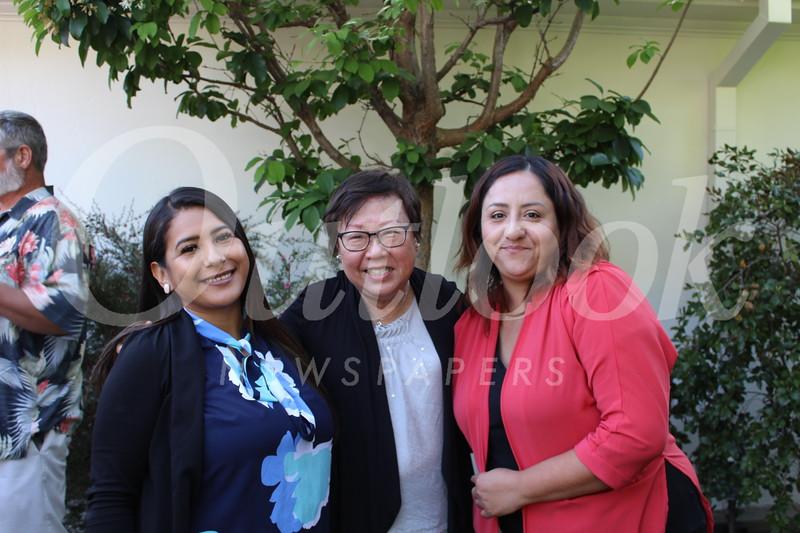 Anais Castillo, Mabel Koh and Christina Lupercio