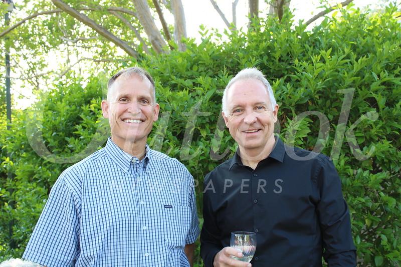 Matt Swanson and Kirby Repko