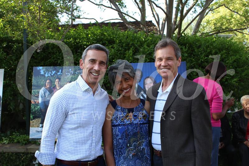 Mark Silk with Karyn and Stu Hemphill