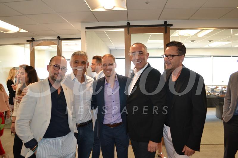 Raul Lamelas, Peter H. Hernandez, Jonathan Butler, Stephen Kotler and Mark Liddell