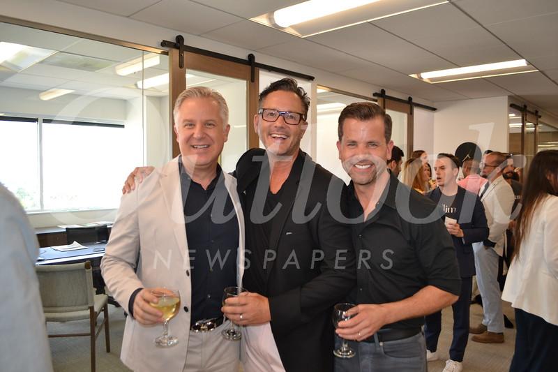Bill Bergert, Mark Liddell and Tim Durkovic