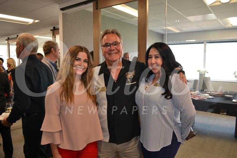 Kaitlyn Bell, Kirk Dilbeck and Stephanie Maldonado