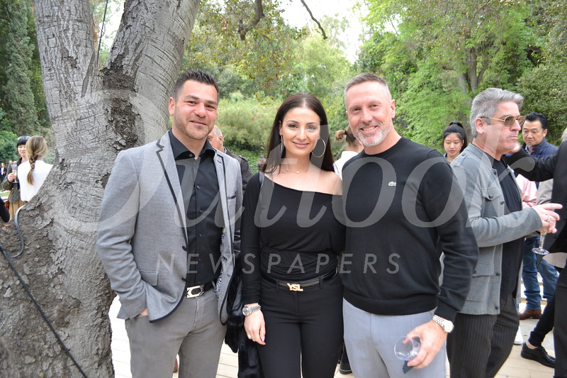Raffie Kalajian, Aleen Haoian and Shea Case
