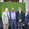 Pasadena Educational Foundation Executive Director Patrick Conyers, PUSD Superintendent Brian McDonald, PUSD Board of Education President Larry Torres and former Tournament of Roses President Lance Tibbet.