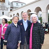 Marilyn and George Brumder with Diana Peterson-More