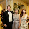 Dave and Kathy Gallagher with Elizabeth House Director of Development Tiffany Goodwin Van Camp
