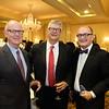Stephen Stewart, Don Haggstrom and Steve Norris