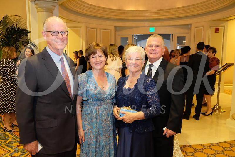 Steve and Maritza Stewart with Rosalie and Jim Halverson