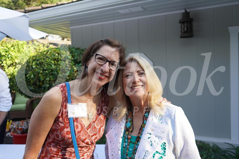 Linda Sindell and Regina Da Vanzo