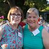 Kathi Wagner and Kathy Larson