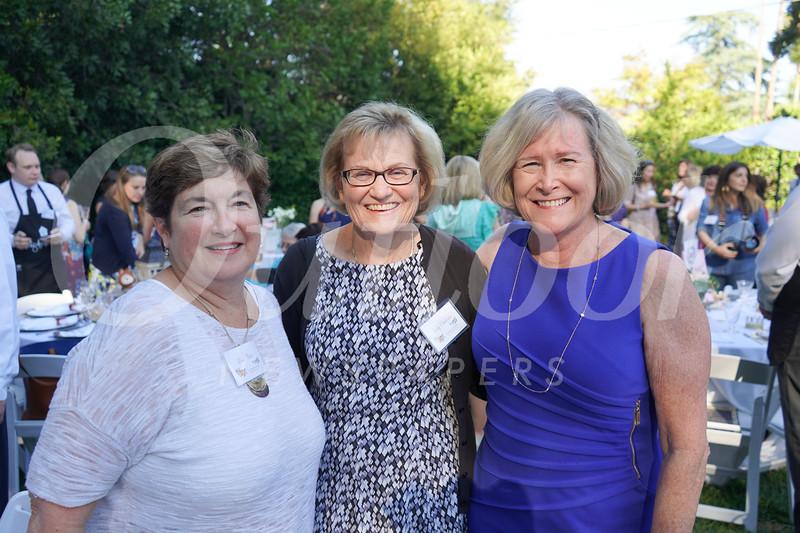 Linn Dietz, Judy Chalison and Nancy Porter