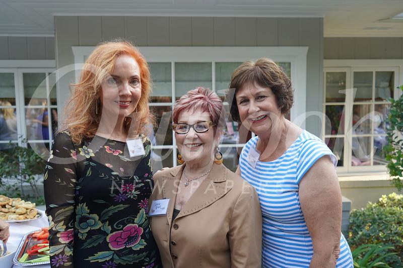 Diana Suttle, Gloria Arnell and Lynn Lundgren
