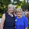 Martha Brown and Elizabeth House Executive Director Debora Unruh
