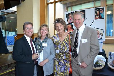 John and Shelley Wierick with Ellen and Richard Leyda