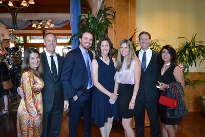 Tracy and Nathan Ackeret, Scott Clauson, Shelby Knight, Jenny and Matt Frary, and Menerva Ariki