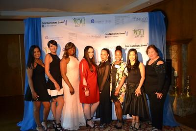 Alyssa Gomez, Kristen Perkowski, Yolanda Sherman, Erika Sethi, Ana Sanchez, Tendai, Mavic Reyes and Annabelle Revilla