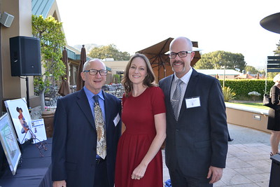 Wayne Mesburg with Maegan and Chuck Taylor