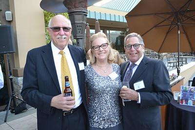 David Wagner with Julie and Harvey Miller