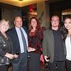 Jean and Philip Barbaro, Deanna and Gerald McMahon, and Ashley Kim