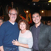 Rob and Leslie Levy with Chef Michael Hung