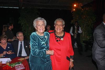 Margaret Huntley Main (Queen 1940) and Shelly Daniels