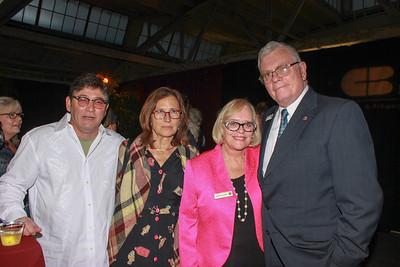 John Mengatti, Lisa Nash Jones, and Barbara and Mitch Dorger