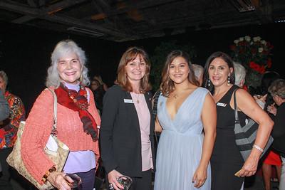 Diana Peterson-More, Amy Wainscott, Isabella Marez (Queen 2018) and Christine Marez
