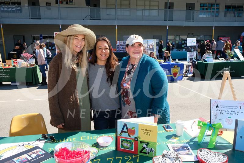St. Elizabeth: Besta Richards, Yolanda Galassi and Kathy Jordan