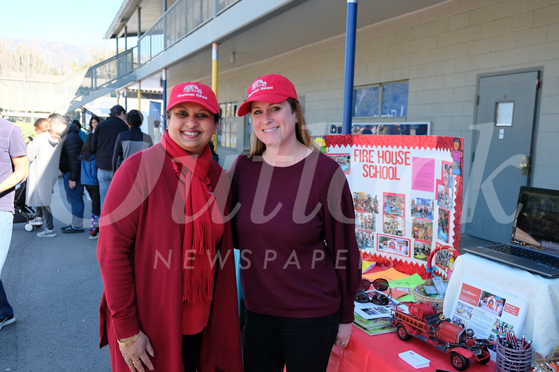 Fire House School: Ishani Marcelline and Jessica Baxter