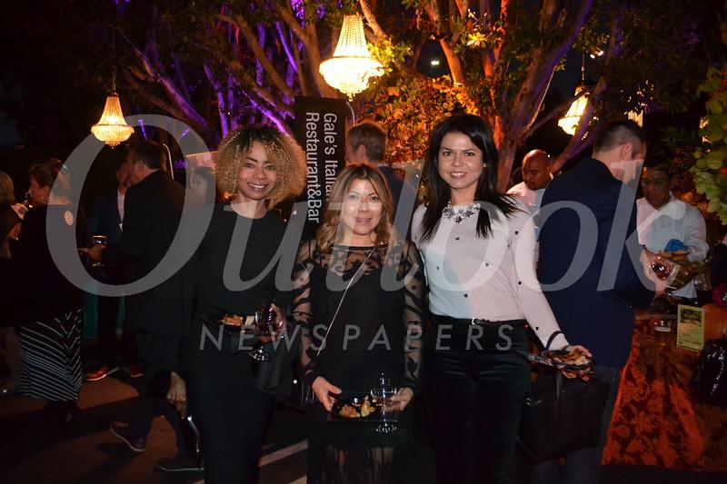 Beatriz Usher, Sandra Belloso and Lora Unger
