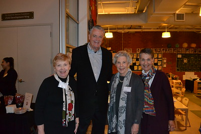Judy Wilson, David Brown, Fran Scoble and Judy Brown