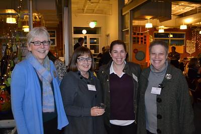 Sue Kujawa, Athaluia Rotter, Liz Carlton and Nancy Carlton