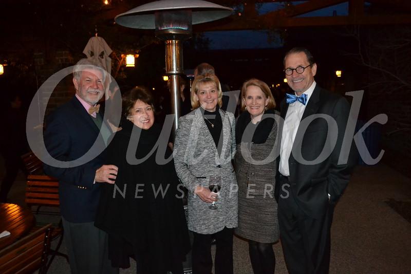 Tom Seifert and Dianne Philibosian, Kim Ebner, and Betsy and Matt DeVoll
