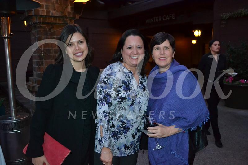 Mara Leong, Elva Sandoval and Julie Espinoza