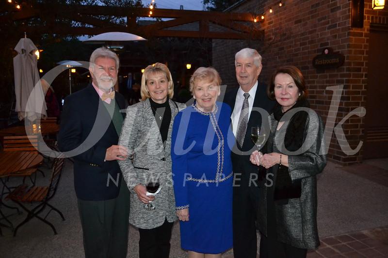 Tom Seifert, Kim Ebner, Judy and Randy Wilson, and Leslie Zasa