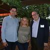 Matt and Melinda Gins with Ronald Johnson